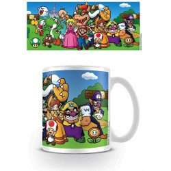NINTENDO - Mug - 300 ml - Super Mario Characters 156628  Drinkbekers - Mugs