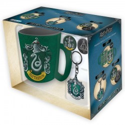HARRY POTTER - Gift Box (Mug + Keychain + Badges) - Serpentard 156529  Drinkbekers - Mugs
