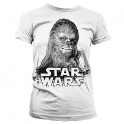 STAR WARS - T-Shirt Chewbacca - GIRLY (XXL) 156492  T-Shirts Star Wars