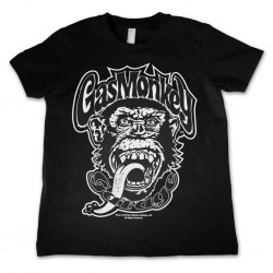 GAS MONKEY GARAGE - T-Shirt KIDS Logo (12 Years) 156482  T-Shirts Kinderen