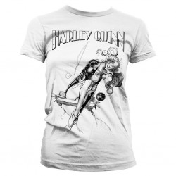 BATMAN - T-Shirt Harley Quinn Sways - GIRLY (L) 156468  T-Shirts Harley Quinn